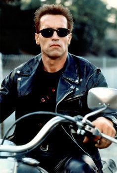 """Filmes clássicos eternizaram frases: CinemaPhoto/Corbis Arnold Schwarzenegger em O Exterminador do Futuro (1984) """"I'll be back"""" (Eu vou voltar)"""