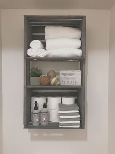 Bathroom Towel Storage, Bathroom Towels, Bathroom Closet, Bathroom Organization, Master Bathroom, Neutral Bathroom, Hallway Closet, Storage Organization, Handicap Bathroom