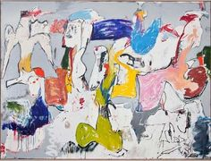 """Eddie Martinez, """"High Flying Bird"""" is one of the highlights from our current exhibition """"Gesture Form Pop Process"""" curated by Samantha Glaser come and stop by for a visit Small Paintings, Contemporary Paintings, Eddie Martinez, Art Du Monde, Outsider Art, Art World, Modern Art, Abstract Art, Dibujo"""