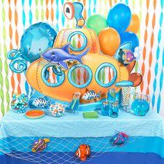 diy octonauts decorations submarine centerpiece