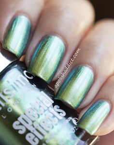 Nails Inc Swiss Cottage (Mirror Metallics collection) Nails Inc. London Nail Lacquers #chinaglaze #OPI #nailsinc #dior #orly #Essie #Nubar @opulentnails over 12,000 pins