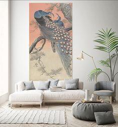 Muurmeester-uitstapje-japan-2 Ohara Koson, Living Room Interior, Photo And Video, Wall, Artwork, Prints, School, Kunst, Work Of Art