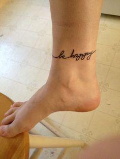 Be happy :)
