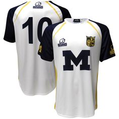Michigan Wolverines Replica Rugby Jersey - White - $54.99