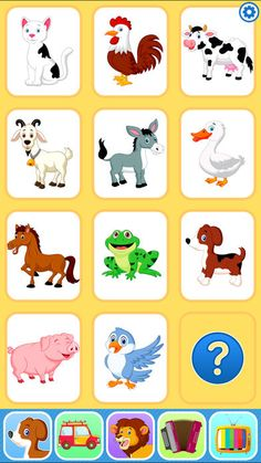 Imagini pentru free printables cards for children Animals For Kids, Farm Animals, Pecs Communication, Baby Flash Cards, Sound Free, Games For Kids, Card Games, Free Printables, Games
