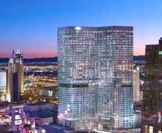 Mandarin Oriental Hotel at CityCenter in the heart of Las Vegas.