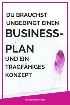 Businessplan erstellen ⎮ Businessplan ⎮ Gründungszuschuss ⎮ tragfähiges Konzept ⎮ Bist Du eine Gründerin? Oder willst Du Dein Business neu aufstellen? ⎮ Erfahre, wie ein Businessplan kombiniert mit einem tragfähigen Konzept der Schlüssel zum Erfolg ist und wie Du anfängst, Deinen Businessplan zu entwickeln. Klicke hier, um den kompletten Artikel zu lesen!