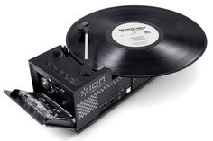Ion Duo Deck USB Turntable & Cassette Player - http://manofmany.com/tech/ion-duo-deck-usb-turntable-cassette-player/