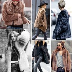 ❤❤¿Qué os parecen los faux fur coats? ❤❤ ⭐⭐¡Súper tendencia de invierno!⭐⭐ // What do you think about faux fur coats? Link in profile to shop #buylevard #fashion #moda#outfit #look #style #trend #musthave#trendy #fashiontrends #streetstyle