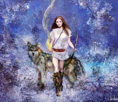 Skadi, Norse goddess of winter