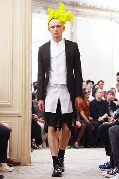 Comme des Garcons Homme Plus Menswear Spring Summer 2016 Paris - NOWFASHION