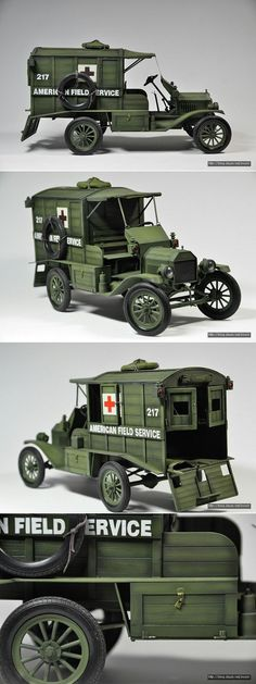 [ACACEMY] 1/16 FORD MODEL T - Ambulance created by Shin, Bo-Sun south korea