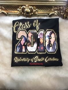 This item is unavailable Senior Class Shirts, Graduation Shirts For Family, Graduation Pictures, College Graduation, Graduation Caps, Grad Pics, Grad Cap, Graduation Dresses, Prom Dresses