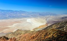Stay at Panamint Springs Resort inside the park (from $99 per night). Here's a peek at Badwater Basin and the nearby Panamint Mountains, as seen from Dante's View. (From: Visit These 'Star Wars' Destinations! )