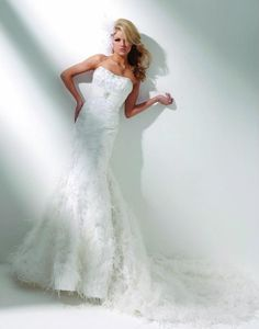 Tony Bowls Bridal Wedding Dresses Photos on WeddingWire Mon Cheri Wedding Dresses, Wedding Dresses Photos, Wedding Dress Sizes, Bridal Wedding Dresses, Bridal Style, Wedding Hair, Lace Mermaid, Mermaid Gown, Mermaid Wedding