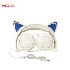 $18.99 (Buy here: https://alitems.com/g/1e8d114494ebda23ff8b16525dc3e8/?i=5&ulp=https%3A%2F%2Fwww.aliexpress.com%2Fitem%2Fnew-design-the-cat-ears-glow-headphones-for-women-suitable-for-holiday-gift-or-cosplay%2F32697829080.html ) Free shipping Original wired cat ear headphone folded headband earphone  LED light headphones suitable for holiday gift or gala for just $18.99