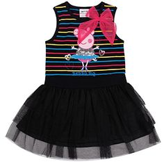 Cute Cartoon Black Princess Tutu Party Dress Skirt for baby Girl Kid ** For more information, visit image link.