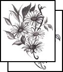 daisy Tattoo Design (INF-00014)