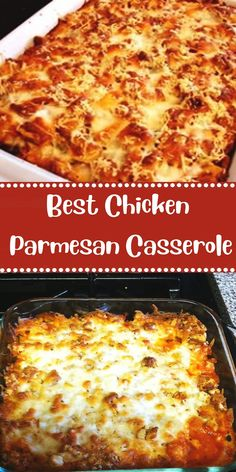 Easy Chicken Parmesan Casserole -- EASY CHCKEN PARMESAN CASSEROLE (*)This Easy Chicken Parmesan Casserole is one of the easiest casserole recipes ever. Zero precooking because the chicken cooks in the casserole! Chicken Parmesan Casserole, Chicken Parmesan Recipes, Healthy Chicken Recipes, Baked Chicken, Cooking Recipes, Grilled Chicken Parmesan, Boneless Chicken Recipes Easy, Skinny Chicken Parmesan, Italian Chicken Casserole