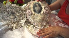 """""""Nostalgia""""  Doily Journal. @5>  This is GORGEOUS.  The video presentation allows us to see the details of the piece."""