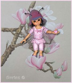 Square Card, Tinkerbell, Disney Characters, Fictional Characters, Fairy, Dolls, Disney Princess, Sweet, Cards