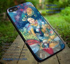 Alice in Wonderland Painting iPhone 6s 6 6s  5c 5s Cases Samsung Galaxy s5 s6 Edge  NOTE 5 4 3 #cartoon #anime #alice dt