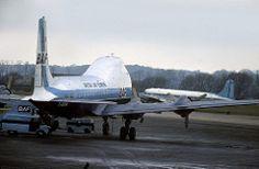ATL-98A Carvair G-AOFW British Air Ferries Southend Airport