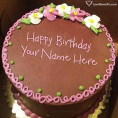 Create Birthday Cake With Photo Edit Name On Best Online Generator Editing Options And Send Happy Wishes
