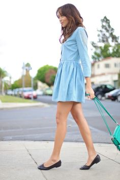 #denim dress