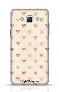 Sand Hearts Samsung Galaxy A5 Phone Case