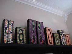 Love these Halloween blocks!