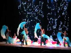 Fan veil dance,Children's group choreography by Solpanova Ekaterina