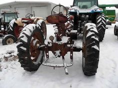 International H tractor salvaged for used parts. This unit is available at All States Ag Parts in Downing, WI. Call 877-530-1010 parts. Unit ID#: EQ-23856. The photo depicts the equipment in the condition it arrived at our salvage yard. Parts shown may or may not still be available. http://www.TractorPartsASAP.com