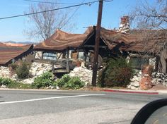 Awesome house in Tujunga, Ca.  Reminds me of a fairy tale house.