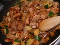 """Hibachi chicken recipe - I haven't made it yet but it is my FAVORITE RECIPE EVER because it says this: """"make sure you don't re-use your spatula, now that the chicken is cooked. get out a different stirring device."""" ...FINALLY, someone understands this!"""