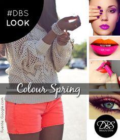 ¡Y llegamos a septiembre! Temporada de colores y muchos accesorios En este DBS Look te mostramos los colores que se vienen y la tendencia labios bicolor que está de moda esta temporada 2014. Atrévete y colorea tu primavera.