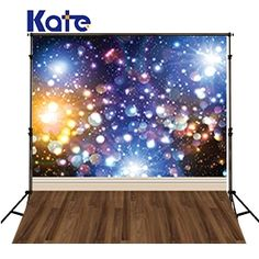29.99$  Watch here - http://aliwl3.shopchina.info/1/go.php?t=32764667366 - Kate Shiny Fantasy Background Photography Colour Spot Lighting Bling Bling Sky Wood Floor Backdrops For Photo Studio  #magazineonline