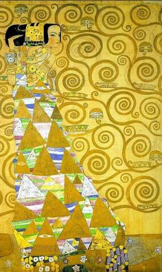 All sizes | Klimt, Gustave (1862-1918) - 1905c. Stoclet Frieze - Expectation | Flickr - Photo Sharing!