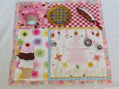 Sweety Treats  Fidget Quilt Tactile  Bright & by EndearingDignite, $40.00
