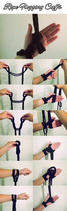A simple tie to supports weight through the whole hand Japanese Rope, Rope Tying, Rope Art, Rope Knots, Twist Outs, Sensual, Erotica, Natural Hair Styles, Pin Up