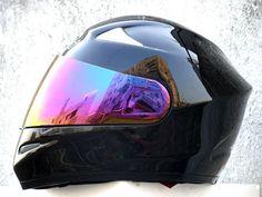 WIKI 810 DOT FULL FACE MOTORCYCLE HELMET BLACK M L XL XXL