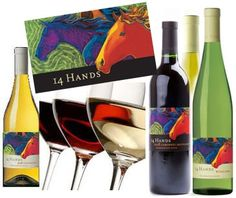 14 hands washington wines   14 Hands. My favorite is the Hot To Trot Red. This Washington wine ...