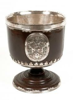 Wassail Bowl Date:	1693 - 1693 Wassailing ceremonies took place at a number of different times throughout the year including Christmas, Shrove Tuesday and January 6th (Twelfth Night). The wassail bowl was filled with a mixture of ingredients including ale, sugar, nutmeg, ginger and cloves. Medium:	Turned. Silversmith. Material(s):	Silver Place of Origin:	England Accession Number:	1965T391 Collection:	Social History - Pinto Collection Birmingham Museums and Art Gallery