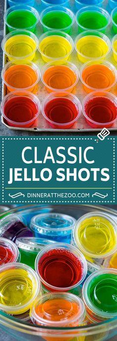Jello Shots Recipe - Dinner at the Zoo Malibu Jello Shots, Lemonade Jello Shots, Strawberry Jello Shots, Easy Jello Shots, Jello Shot Recipes, Alcohol Drink Recipes, Vodka Jello Shots, Jello Shooters Recipe Vodka, Recipe For Jello Shots