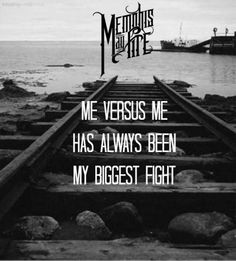 Memphis May Fire - Vices Band Quotes, Music Quotes, Life Quotes, Love Band, Cool Bands, Music Is Life, My Music, Rock Music, My Own Worst Enemy