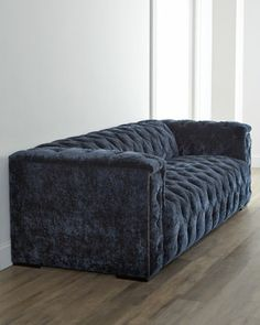 """NM EXCLUSIVE """"Beverly"""" Tufted Sofa - Neiman MarcusFrom Old Hickory Tannery®. Frame made of select hardwoods. Cotton/acrylic/nylon upholstery. Finished back. 101""""W x 40""""D x 30""""T. Made in the USA. Boxed weight, approximately 200 lbs. $3299 +$400"""