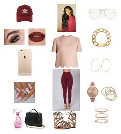 """"" by angel-magwood on Polyvore featuring River Island, Michael Kors, Valentino, Frye, adidas, Été Swim, Givenchy, Moschino, Olivia Burton and ABS by Allen Schwartz"