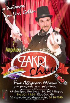 Zakri Magic Show 2013