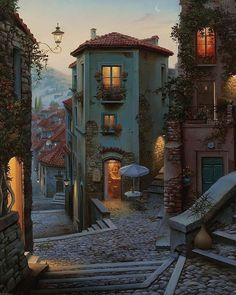 Beautiful World, Beautiful Places, Amazing Places On Earth, Italy Map, Italy Italy, Fantasy Places, Fantasy Landscape, Travel Aesthetic, City Art