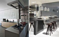 Distribución de cocinas con península  |  DECOFILIA.com
